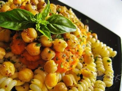 Pasta ceci e crema di carote vegan blog ricette vegane for Cucinare carote
