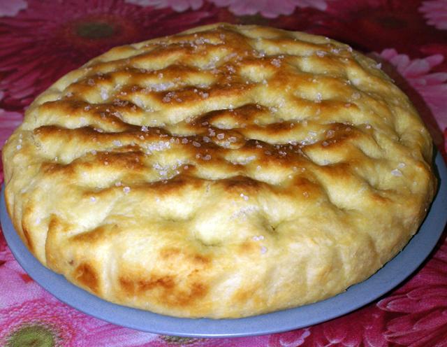 Focaccia di patate vegan blog ricette vegane cruelty for Ricette con patate