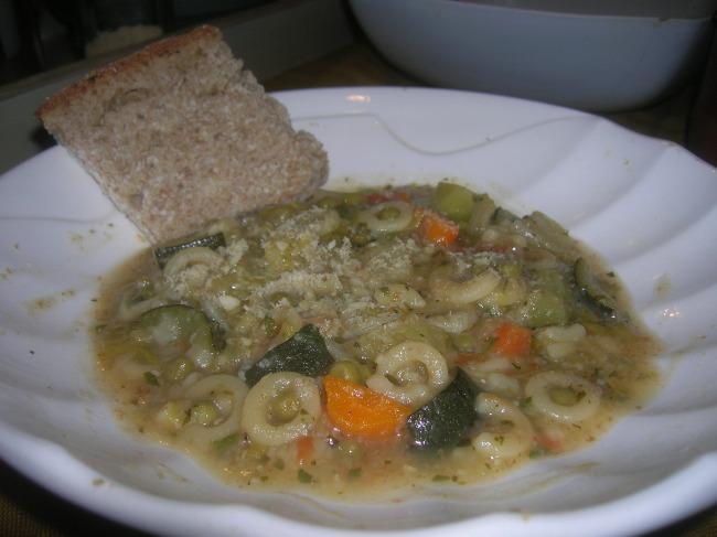 minestrone risottato della nonna 1