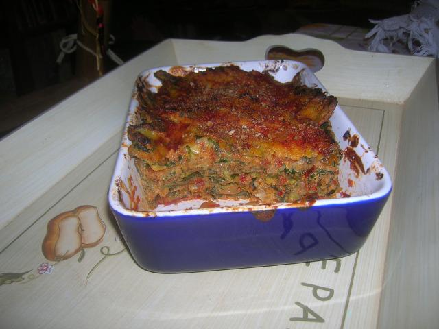 parmigiana di borragine dopo il forno 1p