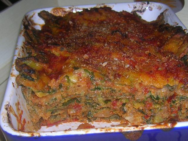 parmigiana di borragine dopo il forno 2 p