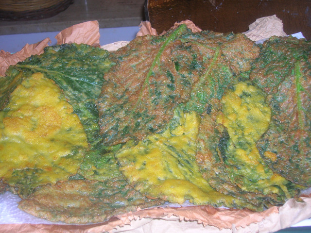 tableau foglie fritte di borragine p