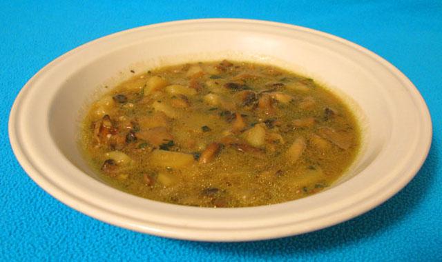Zuppa di funghi e patate - Vegan blog - Ricette Vegane - Cruelty Free