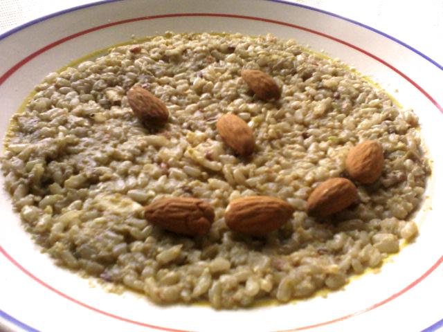Riso integrale con frutta e semi vegan blog ricette vegane cruelty free - Cucinare riso integrale ...