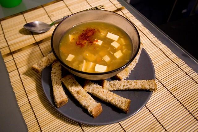 Zuppa cinese agropiccante vegan blog ricette vegane for Mangiare cinese