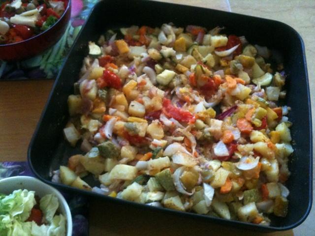 Verdure gratinate al forno vegan blog ricette vegane for Cucinare carote