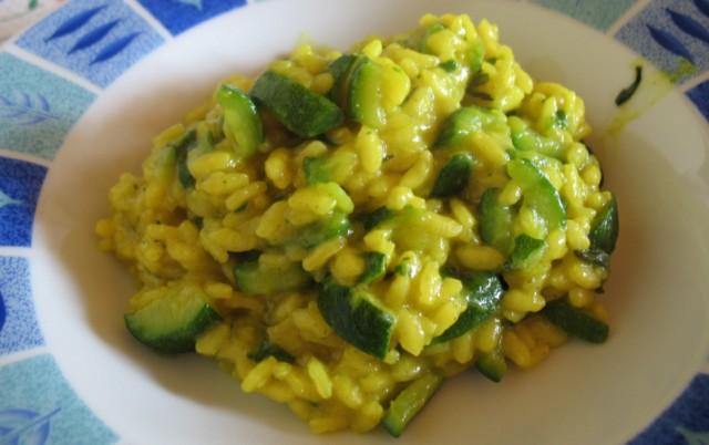 spesso Risotto curcuma e zucchine - Vegan blog - Ricette Vegane - Cruelty  UG32