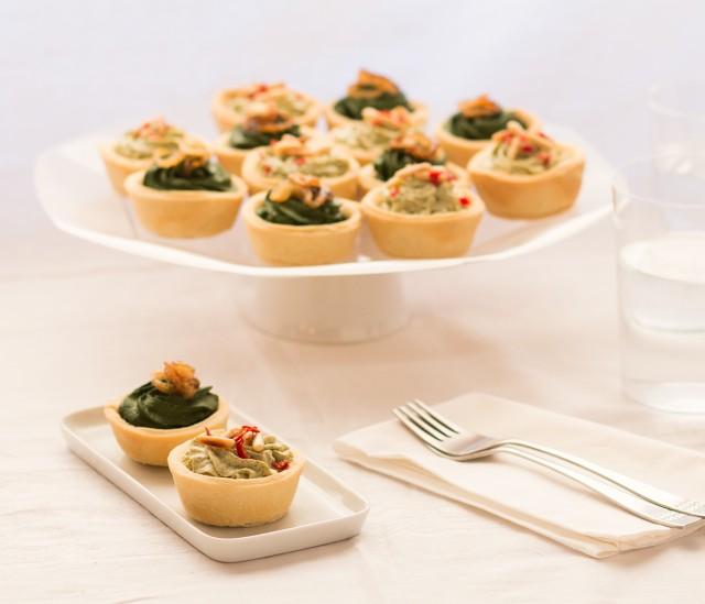Canap ai broccoli e spinaci vegan blog ricette vegane for Canape vegan