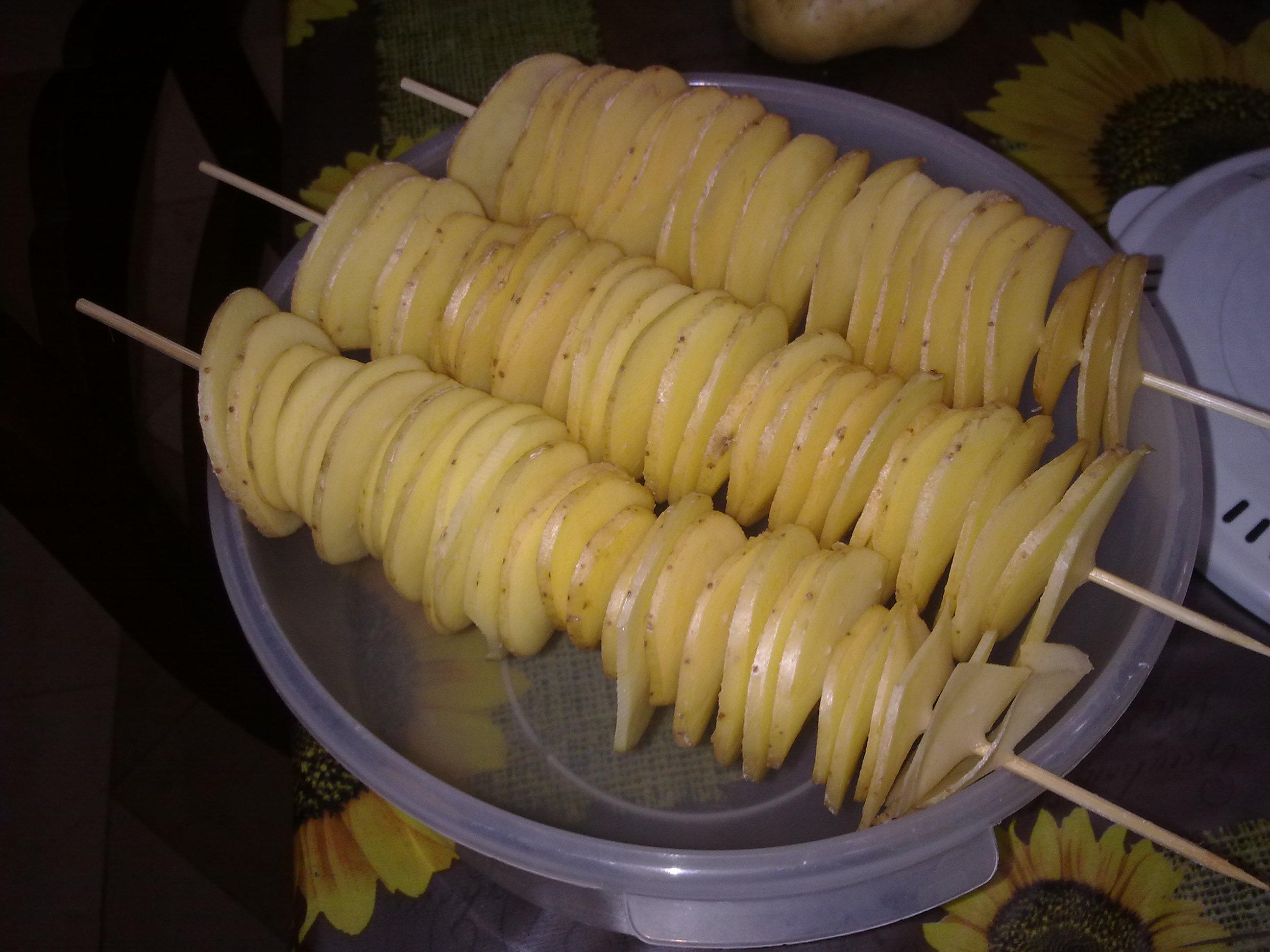 patatine nel forno a microonde