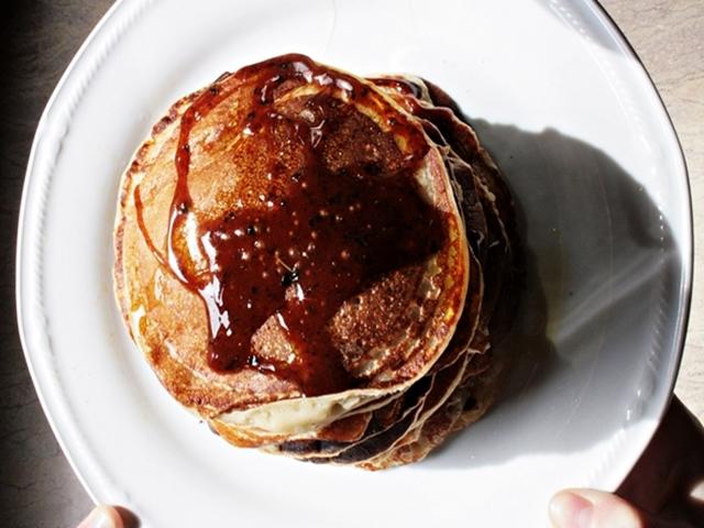 Pancakes patate dolci