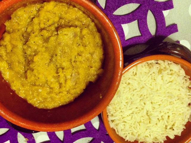 lenticchie rosse con cipolla e aglio