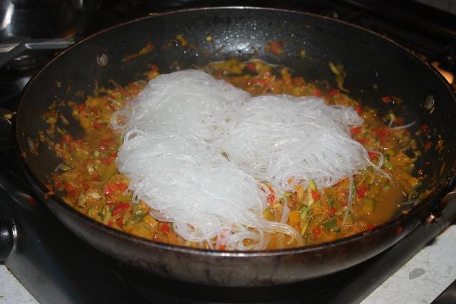spaghetti di soia