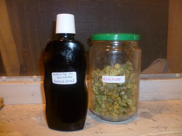 bottiglia e barattolo