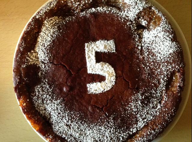 torta 5 mesi