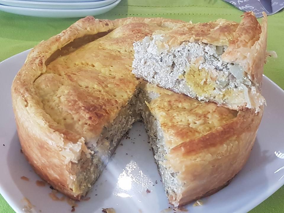 Torta Pasqualina Ai Carciofi Vegan Blog Ricette Vegane Cruelty