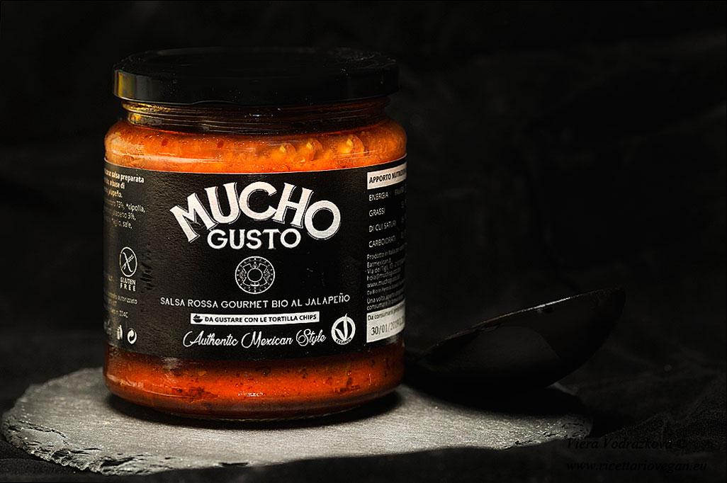 Mucho gusto salsa rossa gourmet bio al jalapeno vegan for Cucinare jalapenos