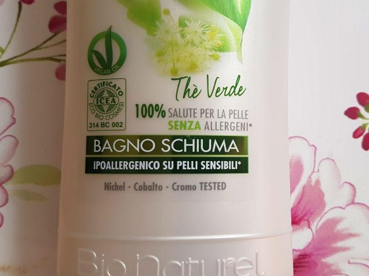 Bagnoschiuma Naturale : Winnis naturel bagnoschiuma thè verde vegan blog ricette