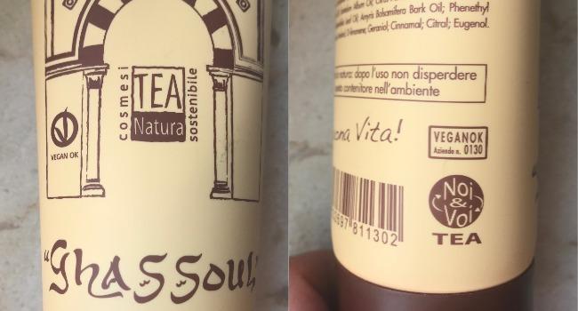 Tea natura shampoo ghassoul